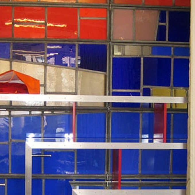 American Airlines Robert Sowers glass office dividers