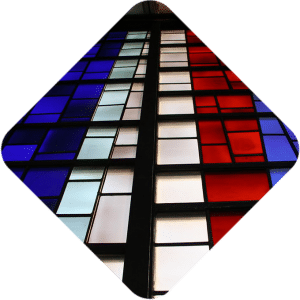 American Airlines Robert Sowers stained glass