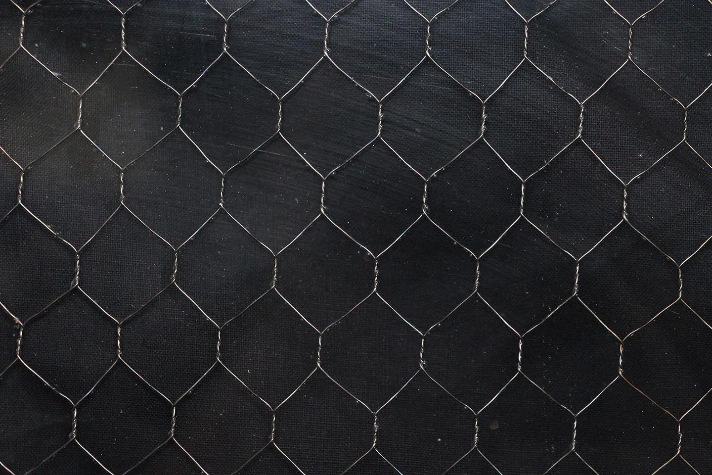 Clear Chicken Wire Glass