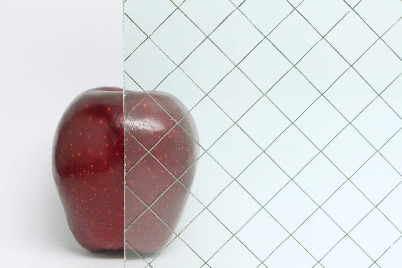 Diamond Chicken Wire Glass | Olde Good Glass