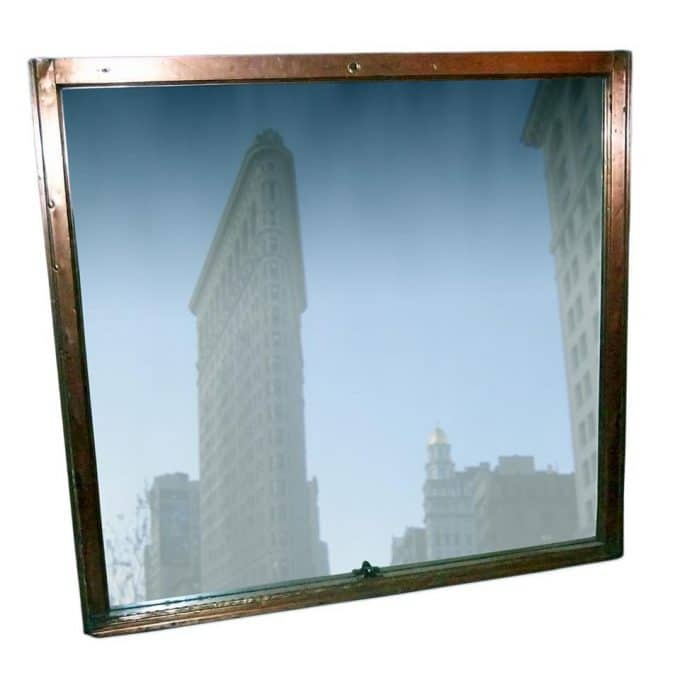 Flatiron Building copper window mirror