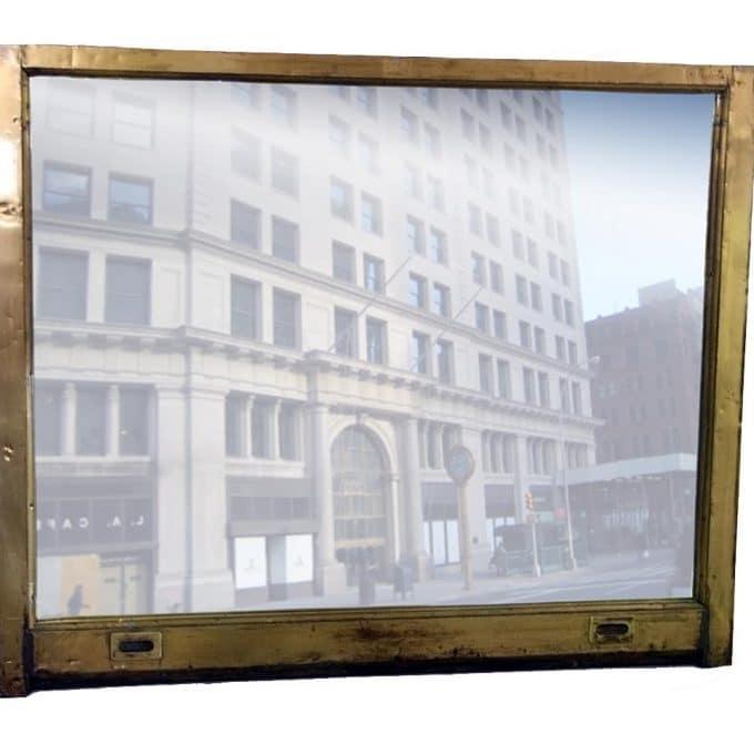 International Toy Center window mirror
