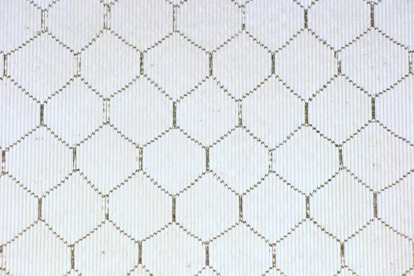 Ribbed Chicken Wire Glass | Olde Good Glass