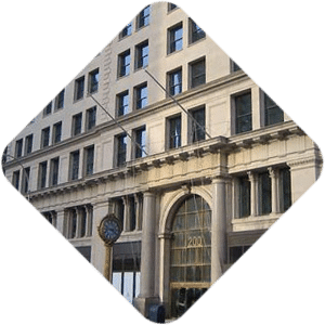 International Toy Center reclaimed windows