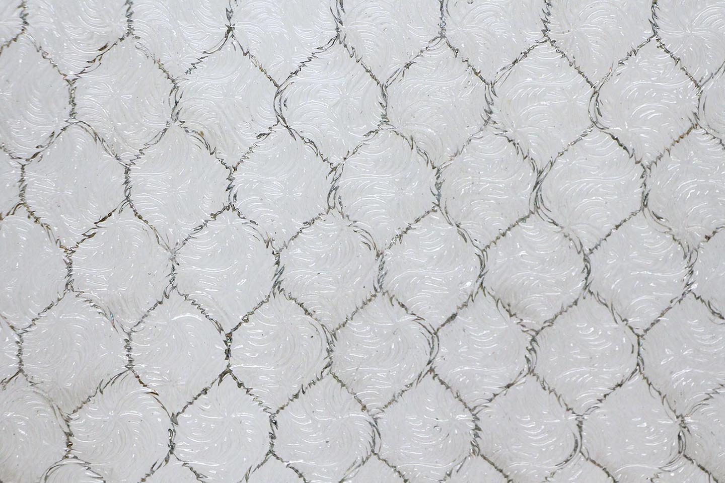 Wormy Chicken Wire Glass | Olde Good Glass