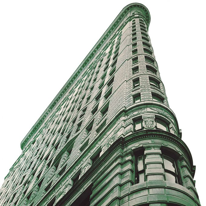 Flatiron Building reclaimed copper windows