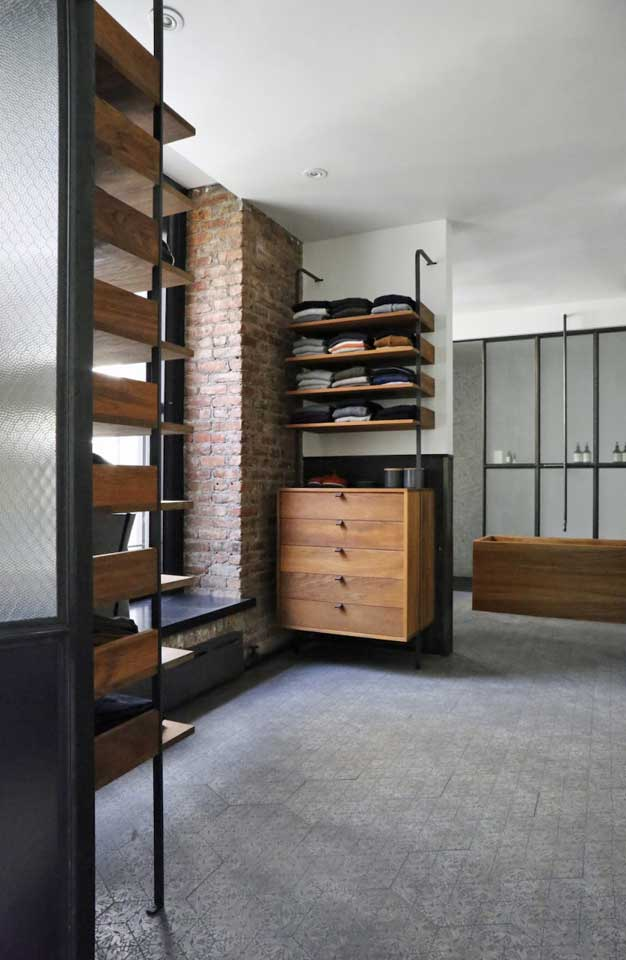 Loft Apartment Olde Good Glass - Bathroom partitions nyc